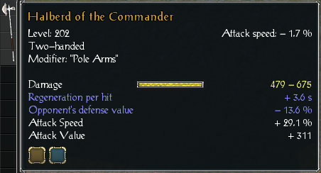 Halberd of the commander stats.jpg