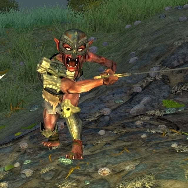 Warriors Fire And Ice Download: Sacred 2:Weak Goblin Warrior Of The Ore-Thag Clan