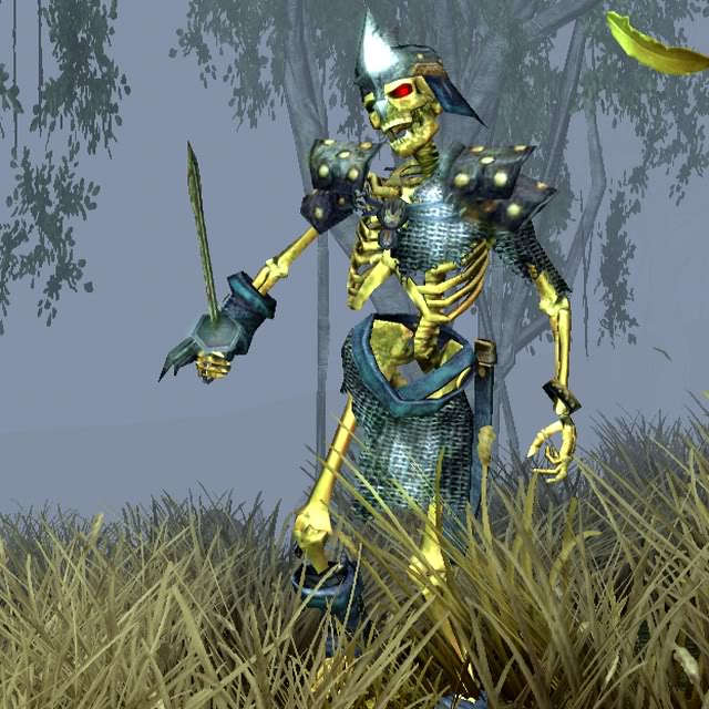 Warriors Fire And Ice Download: Sacred 2:Moldered Skeleton Warrior