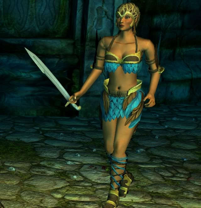 Warriors Fire And Ice Download: Sacred 2:Dryad Enemy