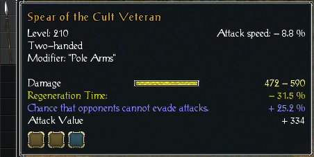 Spear of the cult veteran stats.jpg